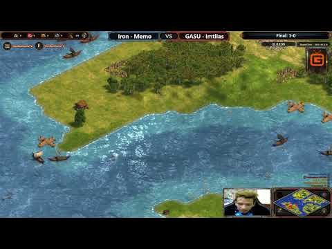 AoE DE | Memo - Iron vs GASU - Imtlias | Final - Map 2: L.Islands | AoE DE Trial Cup Season 2