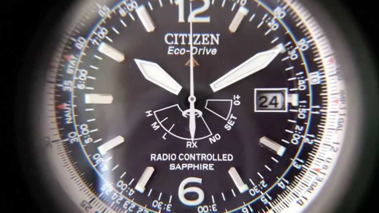 orologio citizen eco drive h461 radio controlled youtube. Black Bedroom Furniture Sets. Home Design Ideas