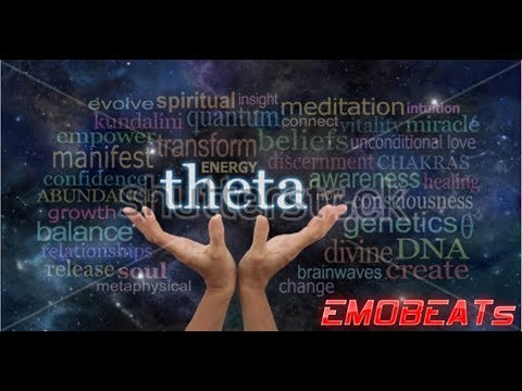 FIREPLACE 6Hz THETA BINAURAL BEATS  Light meditation  REM stage  Isochronic  tones