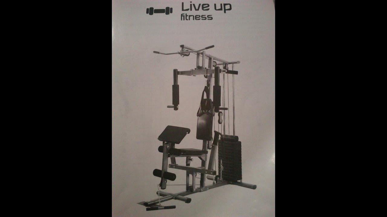 banc de musculation suntrack 420