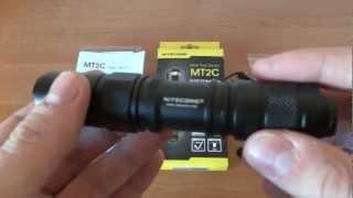 Обзор светодиодного тактического фонаря NITECORE MT2C 360Лм
