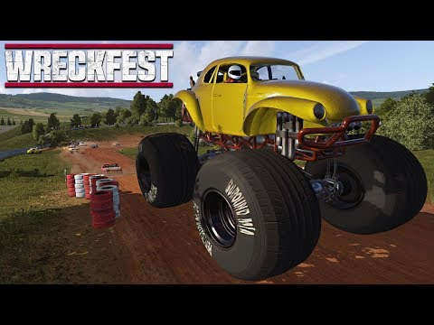 MONSTER TRUCK DESTRUCTION - Next Car Game Wreckfest |