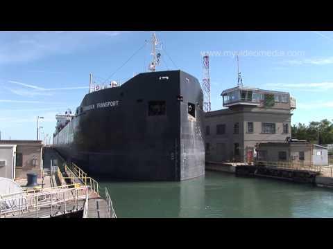 Ship BELASITZA at Lock 4, Welland Canalиз YouTube · Длительность: 5 мин34 с