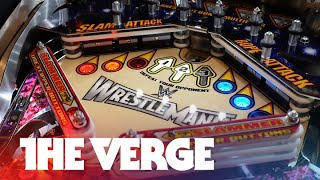 Wrestlemania is the world's most advanced pinball machine — CES 2015
