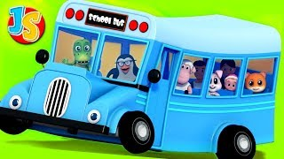 Wheels On The Bus Nursery Rhymes | Baby Songs For Kids By Junior Squad