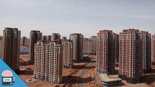 The largest abandoned city in the world - Ordos (Kangbashi)