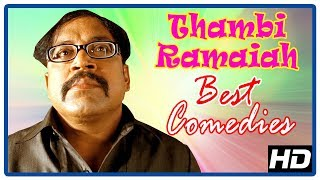 Thambi Ramaiah Comedy Collection | Best Tamil Comedy Scenes | MS Bhaskar | Kovai Sarala | Pandi