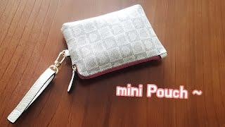 Leather Craft Making mini Pouc…