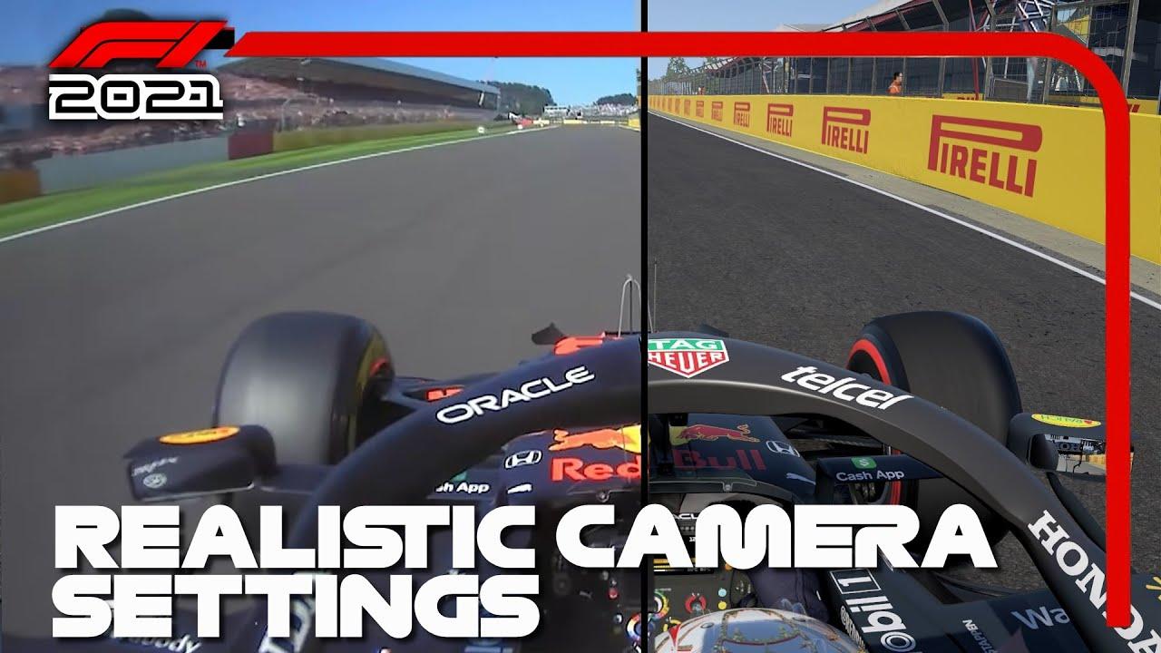 F1 2021 REALISTIC CAMERA SETTINGS TUTORIAL - Nekrews 51