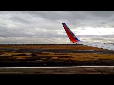 Southwest Airlines Takeoff from ELP