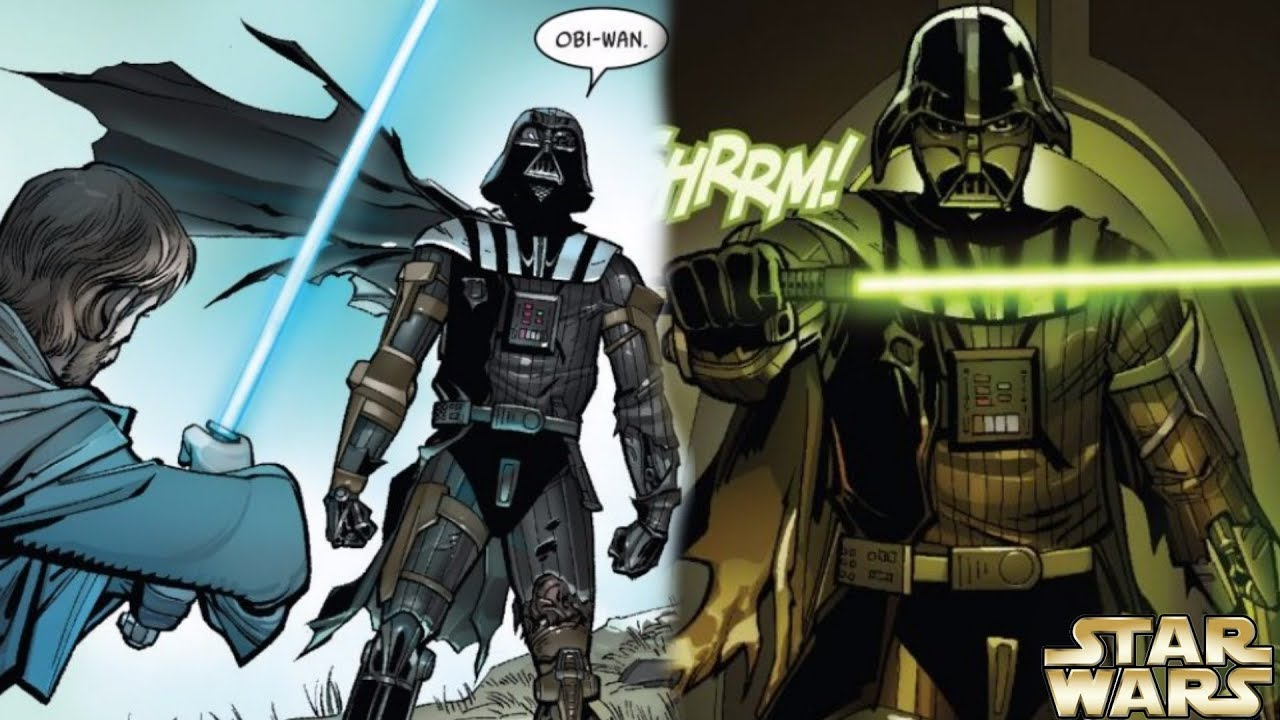 how darth vader had a vision of becoming a jedi again and