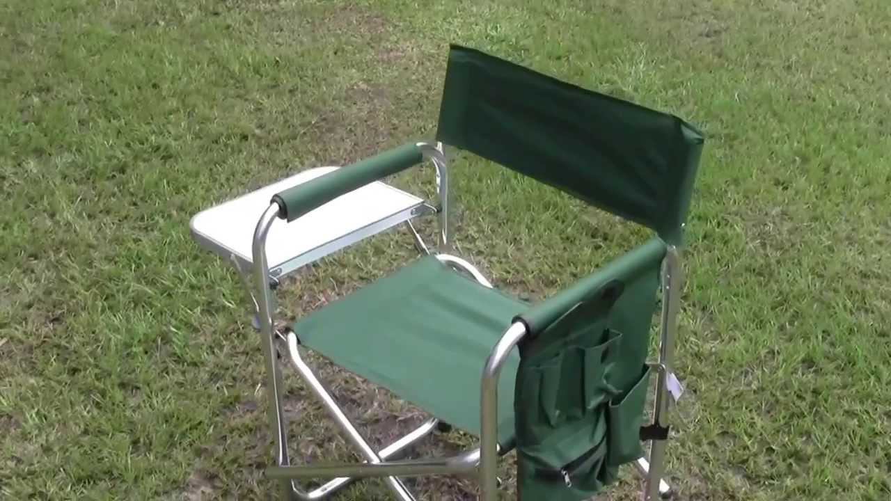 folding chair green chairlift london tickets foldable aluminum from hft quick review youtube
