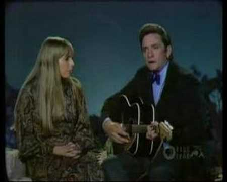 Johnny Cash & Joni Mitchell - The Long Black Veil