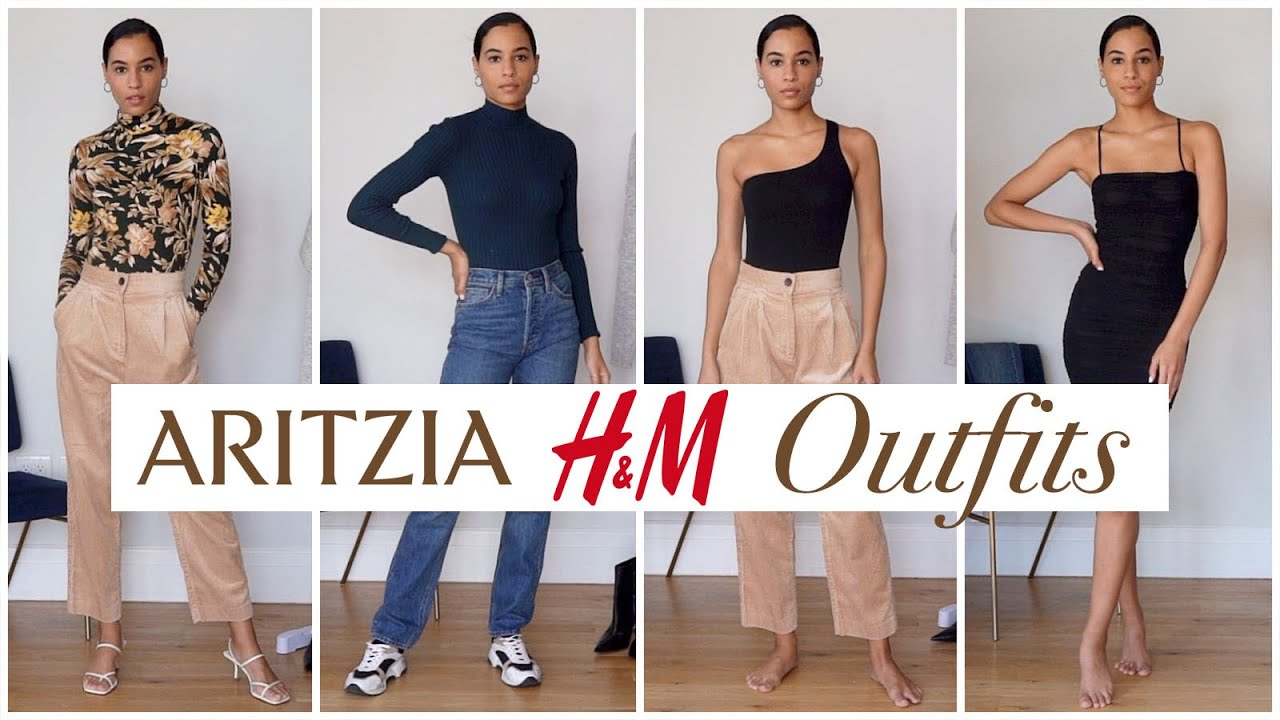 [VIDEO] - 10 Aritzia & H&M Fall Outfits | Try-On haul Sharlene Radlein 1