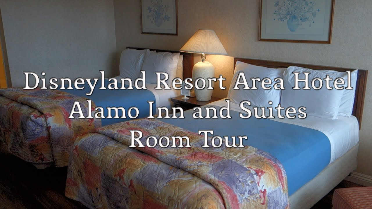 Alamo Inn And Suites Room Tour Disneyland Area Hotel