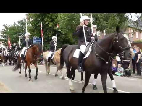 Det store rytteroptog - Ringriderfesten i Sønderborg 2016 - Ringridervej