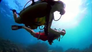 Sunken Ship -Extreme Sport -Diving- Sea Bottom/ Затонувший корабль-Экстрим -Спорт–Дайвинг
