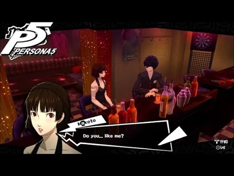 Persona 5: Makoto Niijima Priestess Confidant Link 1-10