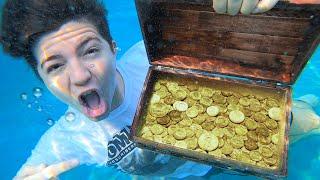 First to Find $1000 Cash Underwater, Keeps it!