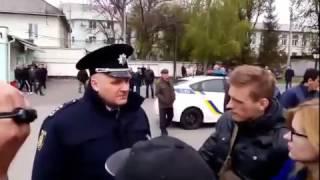 Начальник ГУ НП в Черкаській області Валерій Лютий