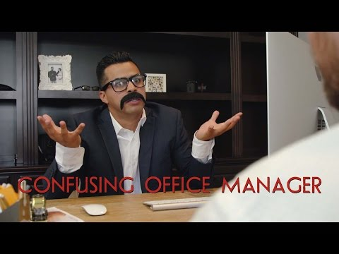 Confusing Office Manager - David Lopez