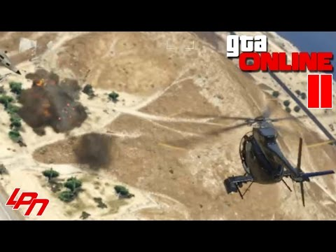 GTA ONLINE Part 11 - Get to the Chopper! (PC) / Lets Play Grand Theft Auto Online