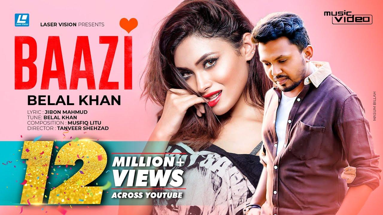 Download Baazi   Belal Khan   HD Music Video   Laser Vision