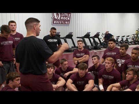 The New UA Little Rock Trojan Wrestling Team