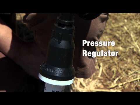 Garden Irrigation Kit:  Water Source Components