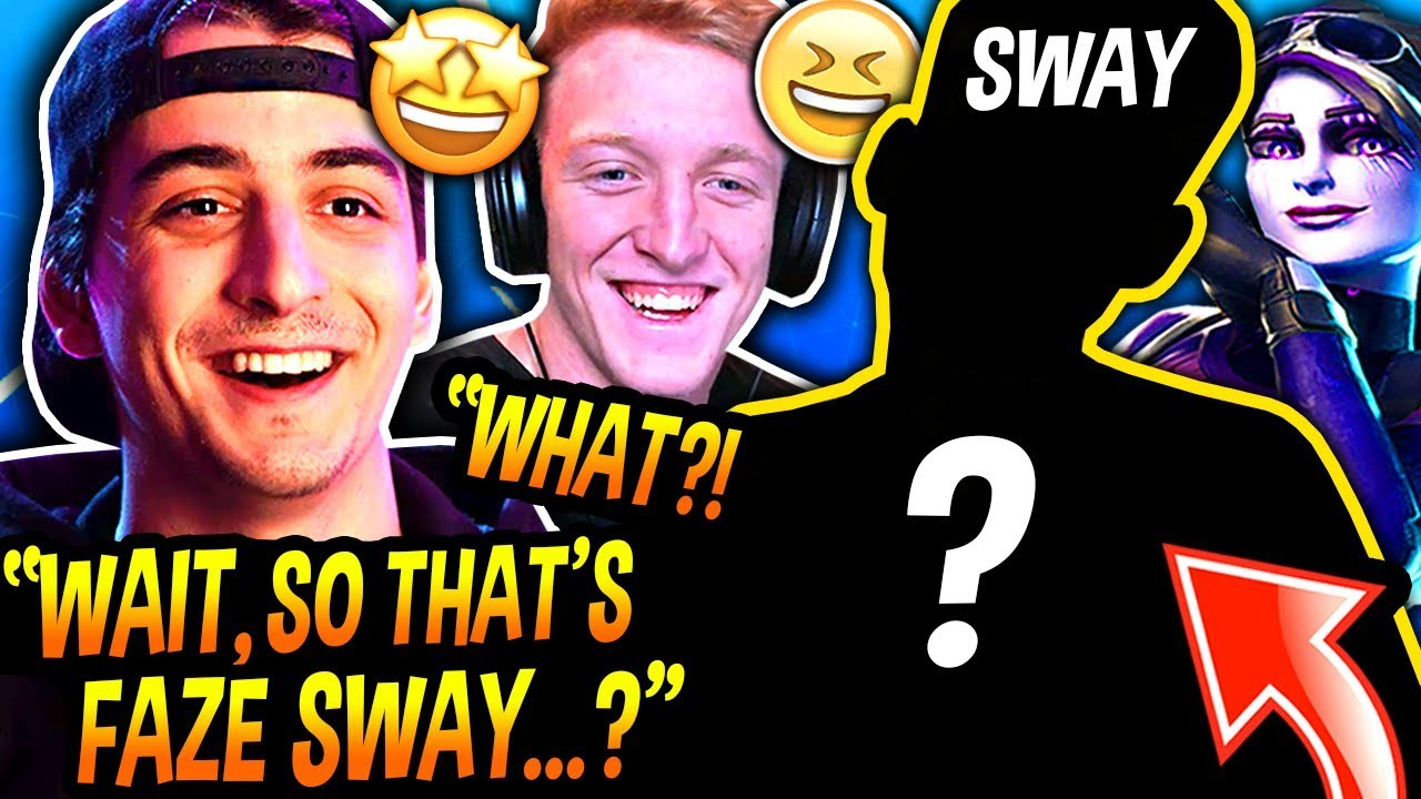 FaZe Sway FINALLY *REVEALS* His FACE *LIVE* ON STREAM & EVERYBODY WAS *SHOCKED* (MIND-BLOWING!)