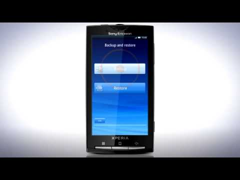 Update your Sony Ericsson Xperia™  X10 to Android 2.1