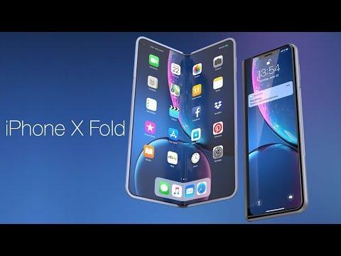 Apple IPhone X Fold – ответ Huawei Mate X и Samsung Galaxy Fold