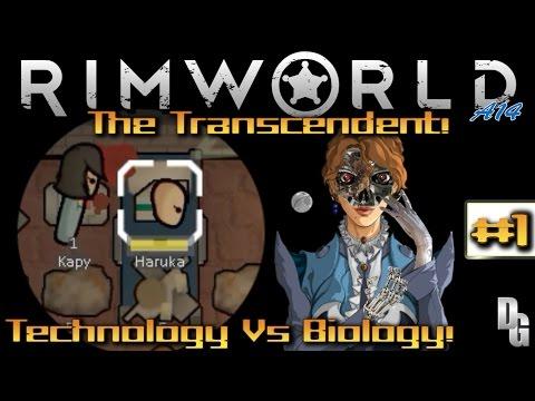 Rimworld Alpha 14  •The Transcendent• - Episode 1 ► Cybernetic Colonizing! (1440p)