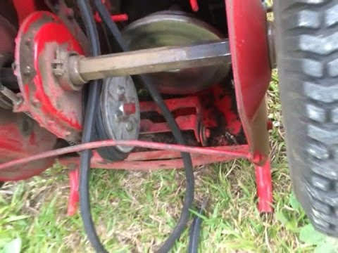 Snapper Mower Drive Belt Removal- Easy - YouTube