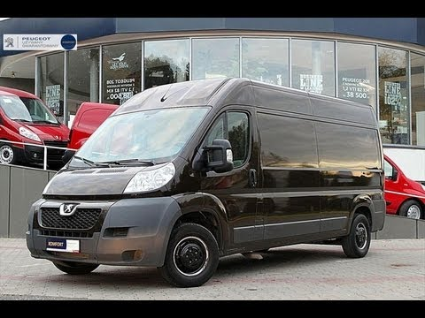 peugeot boxer ii 2 2hdi 122km test tacho 180km h i youtube. Black Bedroom Furniture Sets. Home Design Ideas
