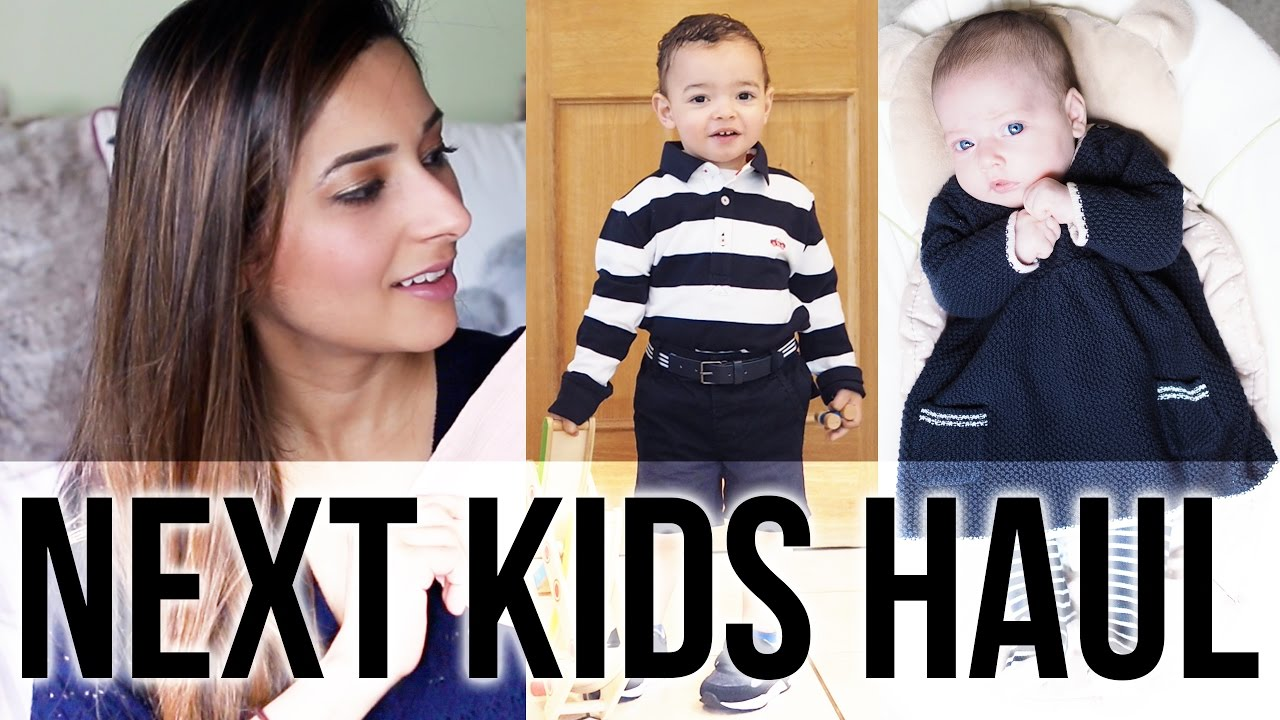 2313aba7d59 HUGE NEXT KIDS CLOTHING HAUL - BABY GIRL   TODDLER BOY SPRING SUMMER CLOTHES