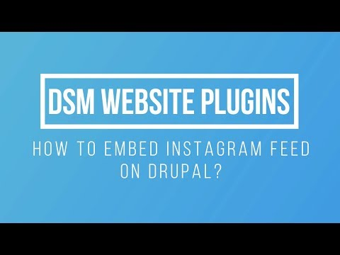 How To Embed Instagram Feed On Drupal?