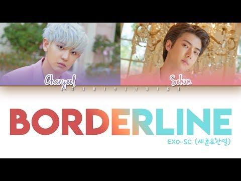 EXO-SC (세훈&찬열) - Borderline (선) Lyrics [Color Coded/HAN/ROM/ENG]