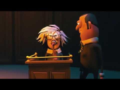 Einstein ve Şoförü Arasında yaşanmış ilginç hikaye- Animasyon Kısa Film
