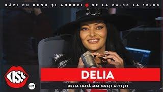 Delia le imită pe Andra, Ruby, Loredana Groza, Celine Dion și alte vedete