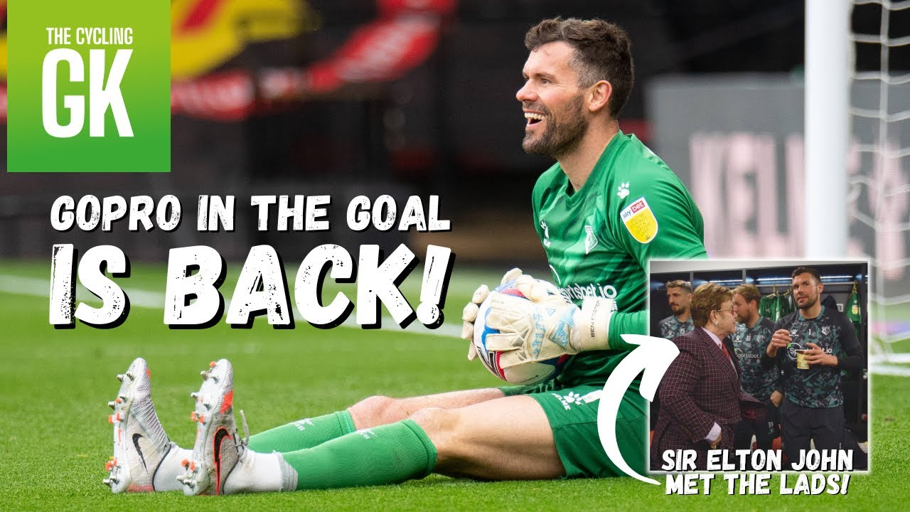 GoPro in the Goal is BACK! | Chatting With Elton John! | The Last Ever Matchday VLOG....