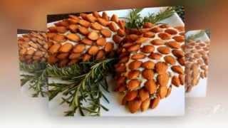 Красивые салаты  Украшения салатов к новому году