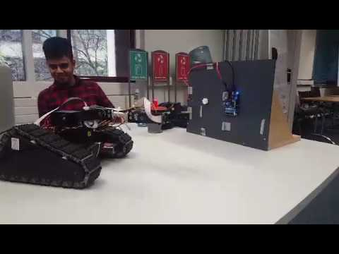 Automatic positioning for the robotic arm