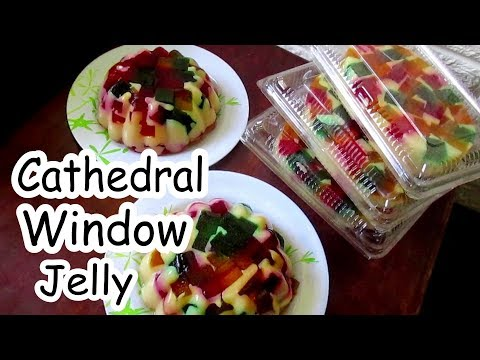 Cathedral Window Gelatin Recipe | How To Make Cathedral Windows