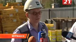 "Пресс-тур по гостинице ""Арктика"" // 21 Канал - Мурманск"
