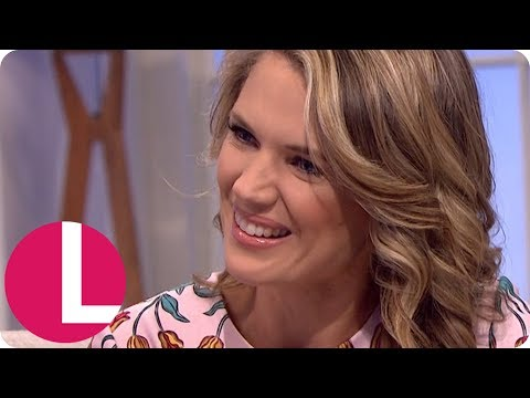 Charlotte Hawkins on Dealing With Piers Morgan and Horseracing! | Lorraine