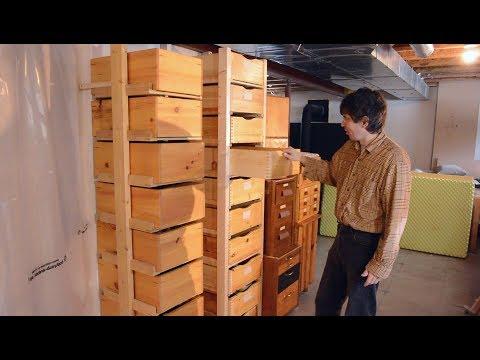 Storage box rack