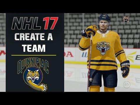 NHL 17 Create A Team - QUINNIPIAC UNIVERSITY