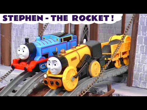 Thomas and Friends Stephen The Rocket Toy Train Story