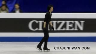 2017 World Junior Figure Skating Championships (주니어 세계선수권) 차준환 (Cha Junhwan) Warm-up (SP)